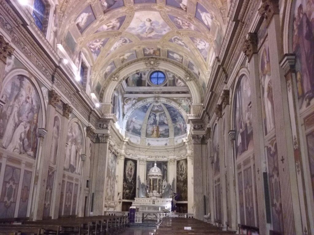 Interno della chiesa della Certosa