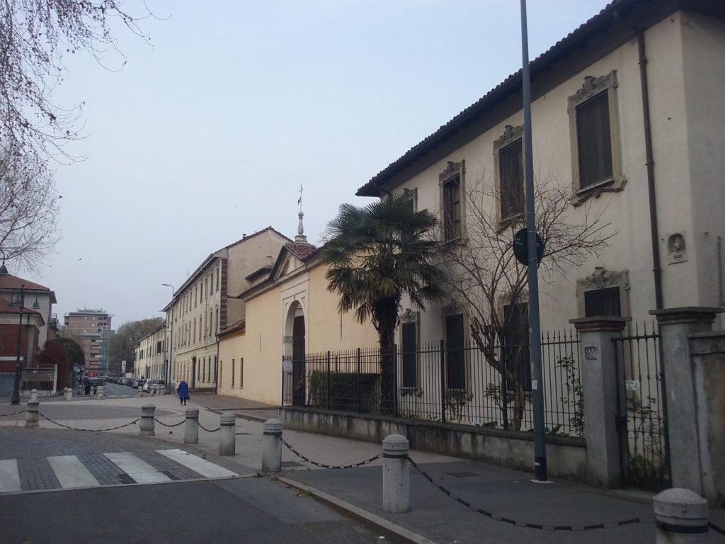 La via Garegnano del quartiere di Musocco
